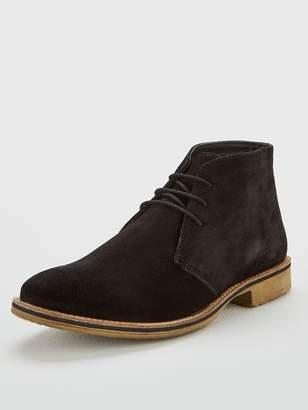 Very Black Suede Chukka Boot
