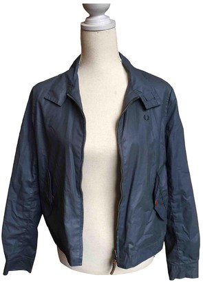 Fred Perry Anthracite Cotton Jacket for Women
