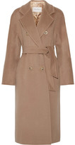 Max Mara Madame Oversized Wool And Cashmere-blend Coat - Camel