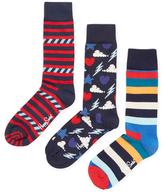 Happy Socks Colored Cotton Socks (3 PK)