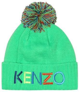 Kenzo Kids Logo beanie