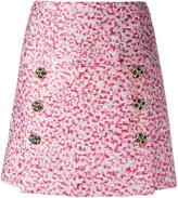 Dolce & Gabbana jacquard A-line skirt - women - Polyester/Silk/Polyamide/Spandex/Elastane - 42