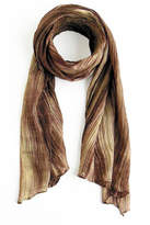 Lua Watercolor Beige Scarf