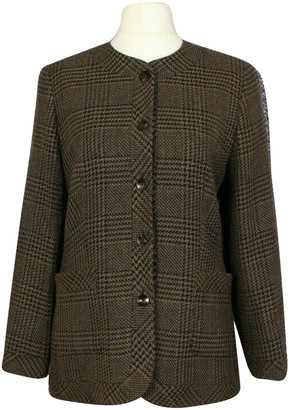 Jaeger Brown Wool Jackets