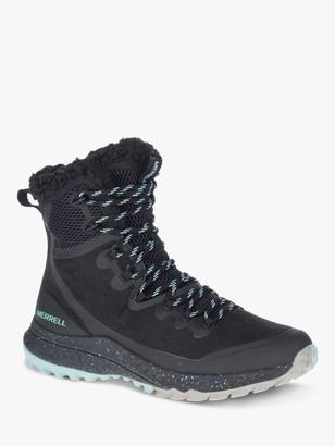 Merrell Bravada Polar Women's Waterproof Hiking Boots, Black