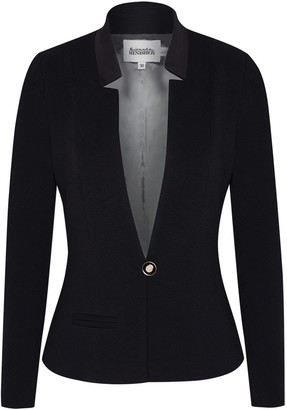 Menashion Blazer No. 500 Slim Fit Black