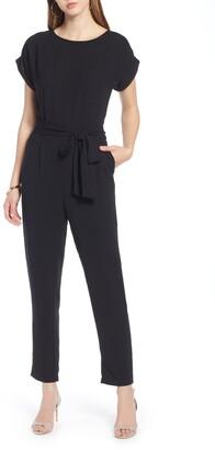 Halogen Short Sleeve Jumpsuit