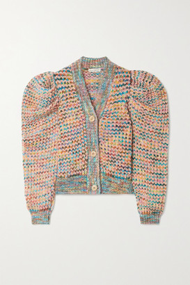 Ulla Johnson Fiora Knitted Cardigan - Gray