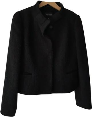 Hobbs Black Wool Jacket for Women