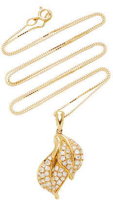 ESSERE Spring Yellow-Gold and White Diamond Necklace