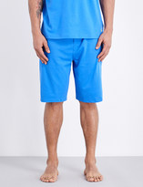 Polo Ralph Lauren Branded cotton-jersey shorts