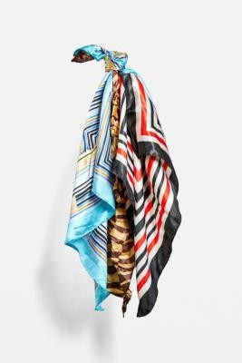 Urban Renewal Vintage Print Headscarf - Assorted ALL at Urban Outfitters