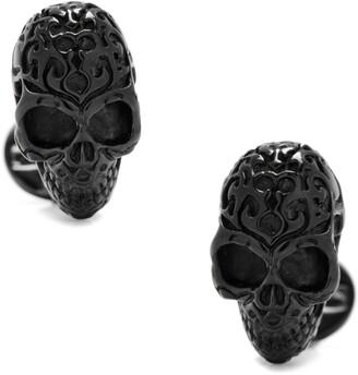Cufflinks Inc. Black Fatale Skull Cuff Links