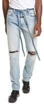 Fear Of God Distressed Tie Waist Slim Leg Jeans