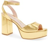 Chinese Laundry Women's Theresa Metallic Platform Sandal