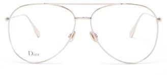 Christian Dior Stellaire017 Aviator Metal Glasses - Gold