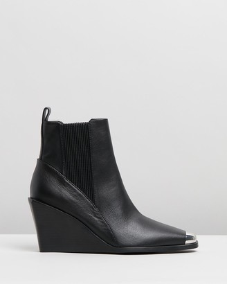 Senso Women's Black Wedge Boots - Weston I - Size One Size, 38 at The Iconic