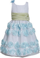 Bonnie Jean Sleeveless Rosette Dress - Girls 7-16