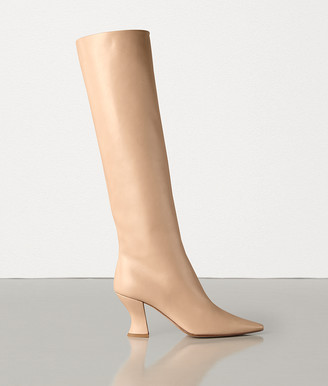 Bottega Veneta ALMOND BOOTS IN CALF