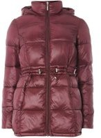 Dorothy Perkins Womens Berry Stitched Padded Coat- Pink