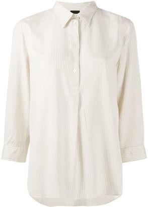 Aspesi Striped 3/4 Sleeve Shirt