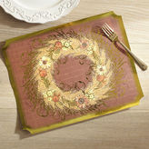 Pier 1 Imports Harvest Wreath Paper Placemats