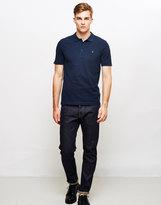 Farah Blaney Short Sleeve Polo Shirt Navy