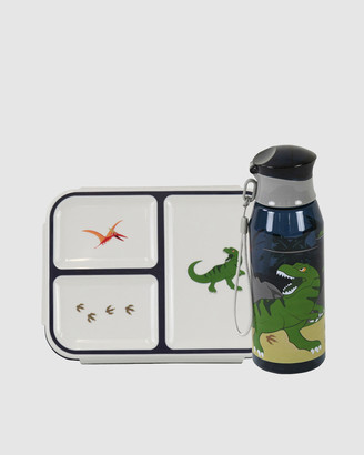 Bobbleart Bento Box and Drink Bottle Dinosaur