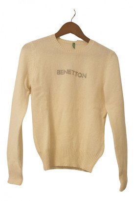 Benetton Ecru Wool Knitwear