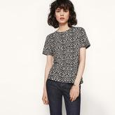 Maje Leopard print T-shirt