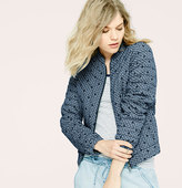 LOFT Lou & Grey Dotplay Bomber Jacket