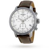 Tissot PRC 200 Chronograph White Dial Men's Watch