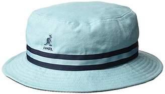 Kangol Stripe LAHINCH Bucket Hat (Light Blue Lb), Small (Manufacturer Size: S)