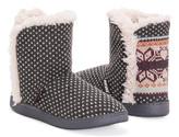 Muk Luks Women's Slippers Dark - Dark Gray Cheyenne Slipper Boot - Women