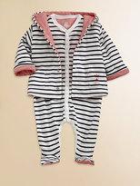 Petit Bateau Infant's Reversible Striped Jacket