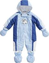 Playshoes Baby Boys 0-24M Fleece Lined Overall Polar Bear Snowsuit