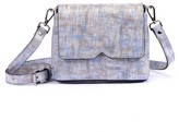 Atelier Hiva Mini Mare Straw Leather Bag Silver