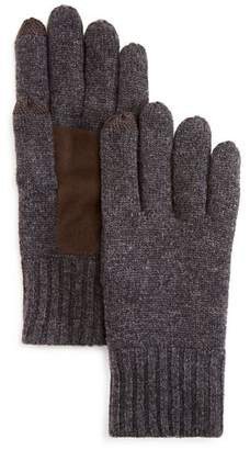 Bloomingdale's The Men's Store at Suede Patch Tech Gloves - 100% Exclusive