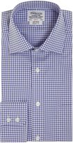 Tm Lewin Gingham Non-iron Classic Fit Formal Shirt