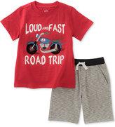 Kids Headquarters 2-Pc. Cotton Road Trip T-Shirt & Shorts Set, Baby Boys (0-24 Months)