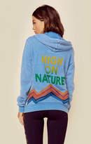 Aviator Nation high on nature zip hoodie