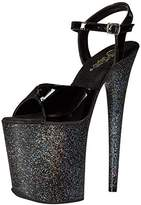 Pleaser USA Women's Flam809mg/b/m Platform Sandal