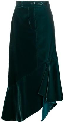 Tom Ford Asymmetric Mid-Length Skirt