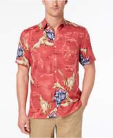 Tasso Elba Men's Tropical-Print Shirt, Created for Macy's