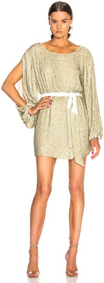 retrofete Selma Dress in Champagne Sequin | FWRD