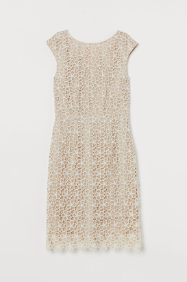 H&M Lace Dress - Beige