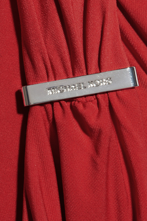 MICHAEL Michael Kors Ruched stretch-jersey dress