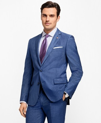 Brooks Brothers Regent Fit Stripe 1818 Suit
