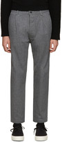 Sunnei Grey Selvedge Classic Trousers