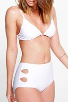 Boohoo Santa Fe Mix And Match Cut Out Bikini Brief